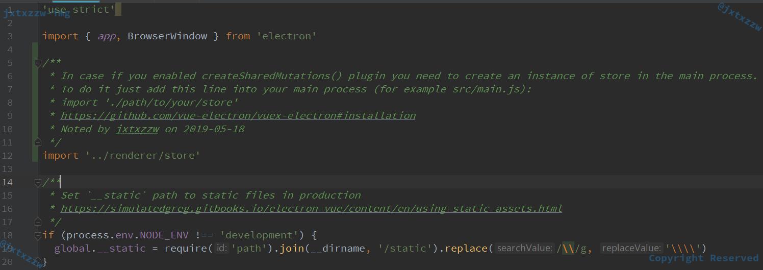 Vue+Electron下Vuex的Dispatch没有效果的解决方案| jxtxzzw个人博客